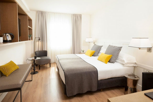Lovely rooms at Hotel Gallery in Barcelona, Cúrate Trips