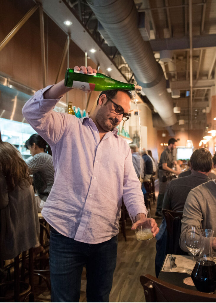 Felix Meana, wine director and co-owner at CÚRATE Tapas Bar