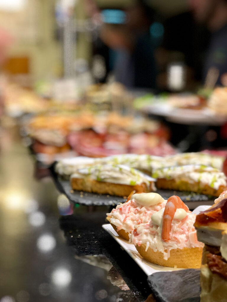 Pintxo of txangurro, crab, is one of the most popular, CÚRATE Trips