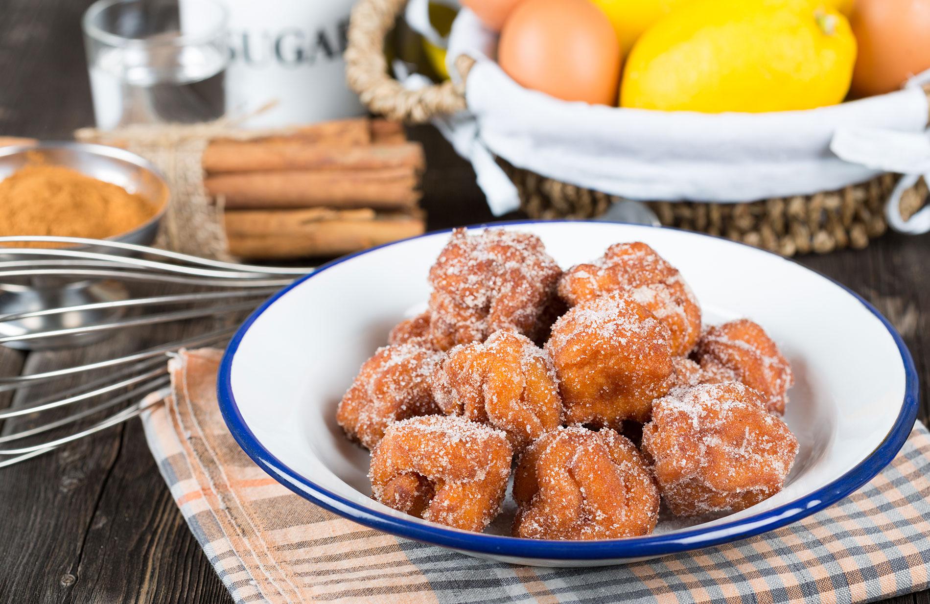 Buñuelos, famous Spanish Easter dessert