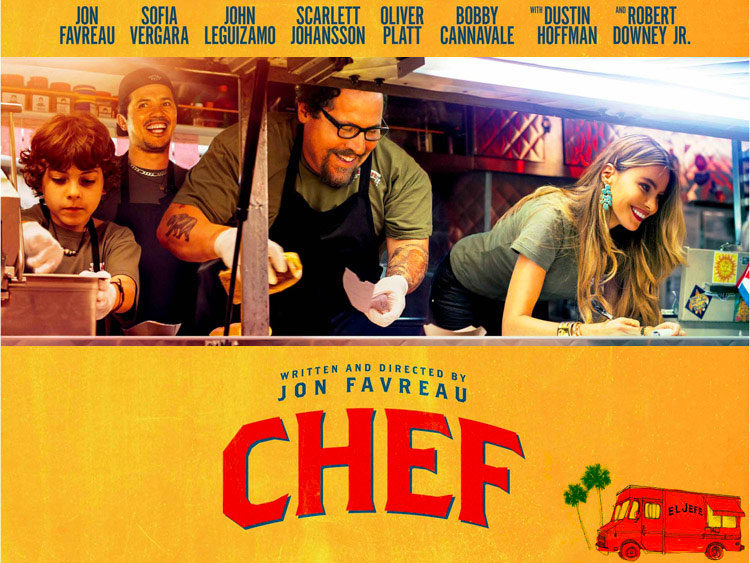 Chef (2014): food and wine movies of all times