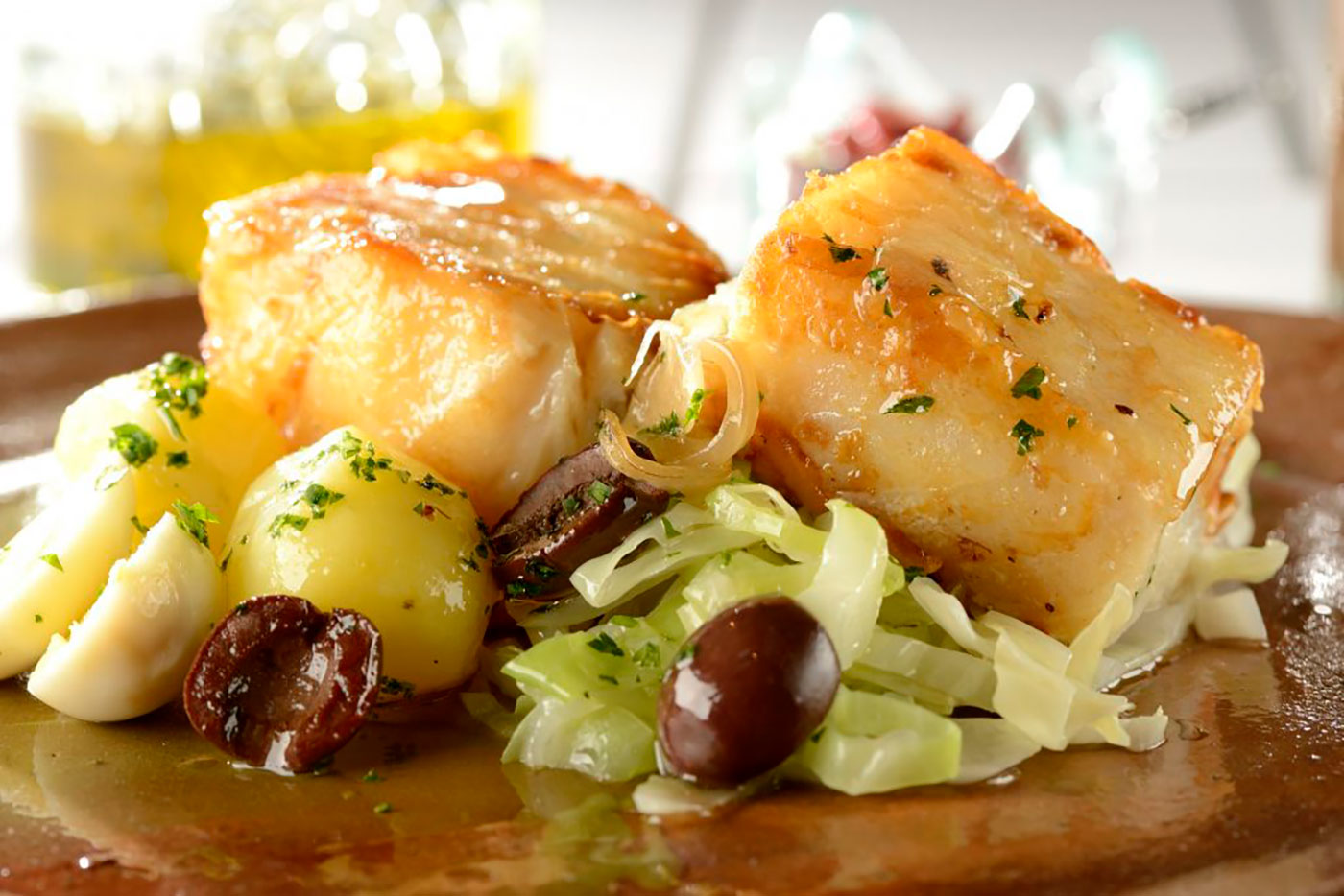 Cod fish, great Easter specialty in Spain and Portugal for Easter