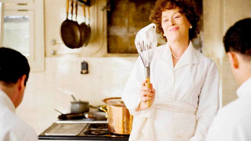 Julie & Julia, food and wine movies of all times