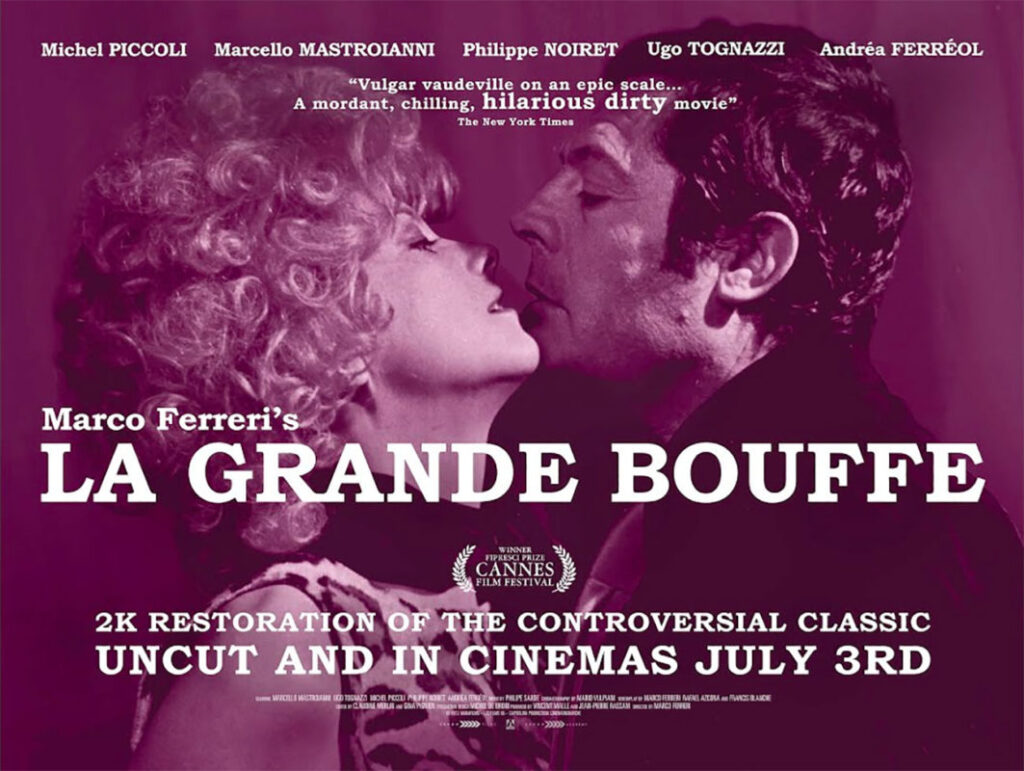 La Grande Bouffe (1973), one of the 10 best Food & Wine movies