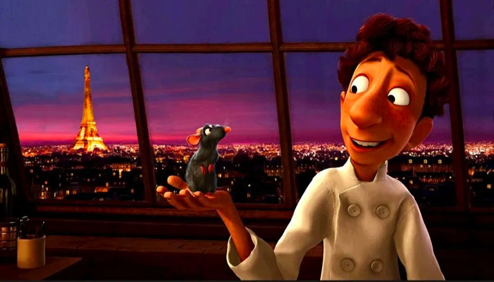 Ratatouille, food and wine movies of all times, CÚRATE Trips