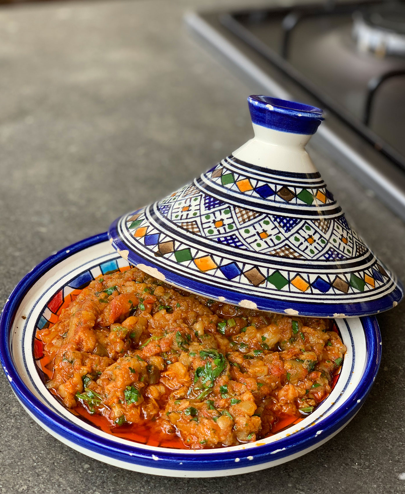 Zalouk recipe, one of best Moroccan salads, CÚRATE Trips