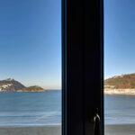Views to la Concha Bay from Hotel de Londres y de Inglaterra, San Sebastian, Basque Country with Cúrate Trips