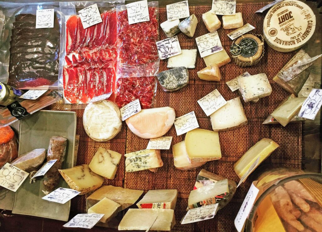 Sample some of the fines charcuterie on a wine & tapas tour with Paladar y Tomar